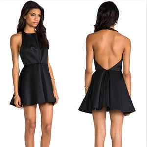 Keepsake The Label Chained Mini Dress Black Chic
